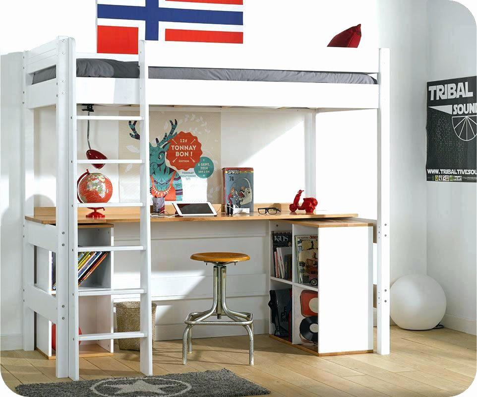 Lit Mezzanine 1 Place Avec Bureau Magnifique Charmant Table De Chevet Lit Mezzanine Charmant Banquette Lit 0d