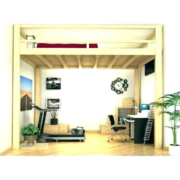 Lit Mezzanine 120×190 Le Luxe Lit En Bois Simple – Familyliveson