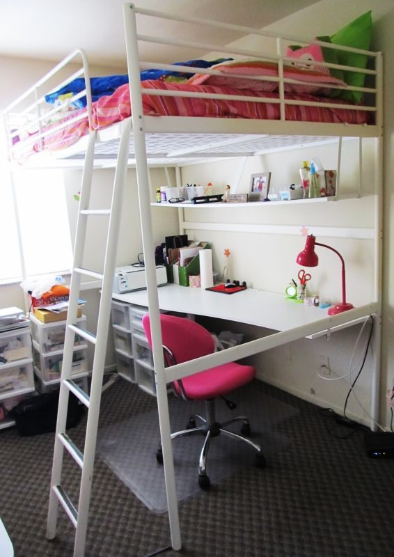 svarta loft bed shared boys room Google Search