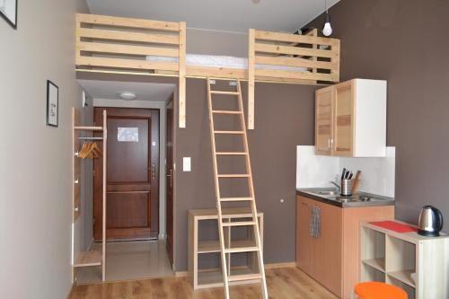 Lit Mezzanine 140×200 Belle Апартаменты Smart Apart Hotel Краков Бронирование отзывы фото