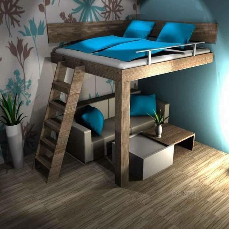 Lit Mezzanine 140×200 Douce Pin by Jo G On Id Bedroom