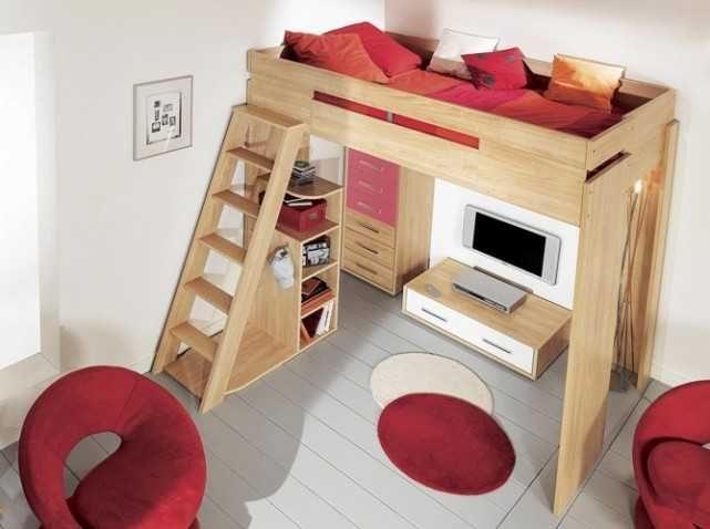 Lit Mezzanine 160×200 De Luxe Lit Mezzanine 160—200 Beau Lit 2 Places 160—200 Stockholm Bed Frame