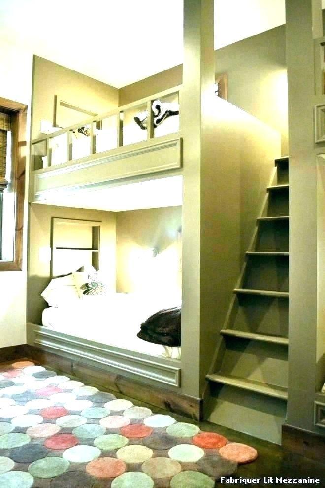 Lit Mezzanine 2 Places Avec Bureau Belle Fabriquer Lit Mezzanine Avec Bureau Ment Design solution S Plan