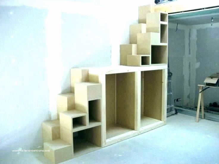 Lit Mezzanine 2 Places Avec Escalier Bel Escalier Rangement Sur Mesure Inspirant Rangement Sur Mesure Nouveau