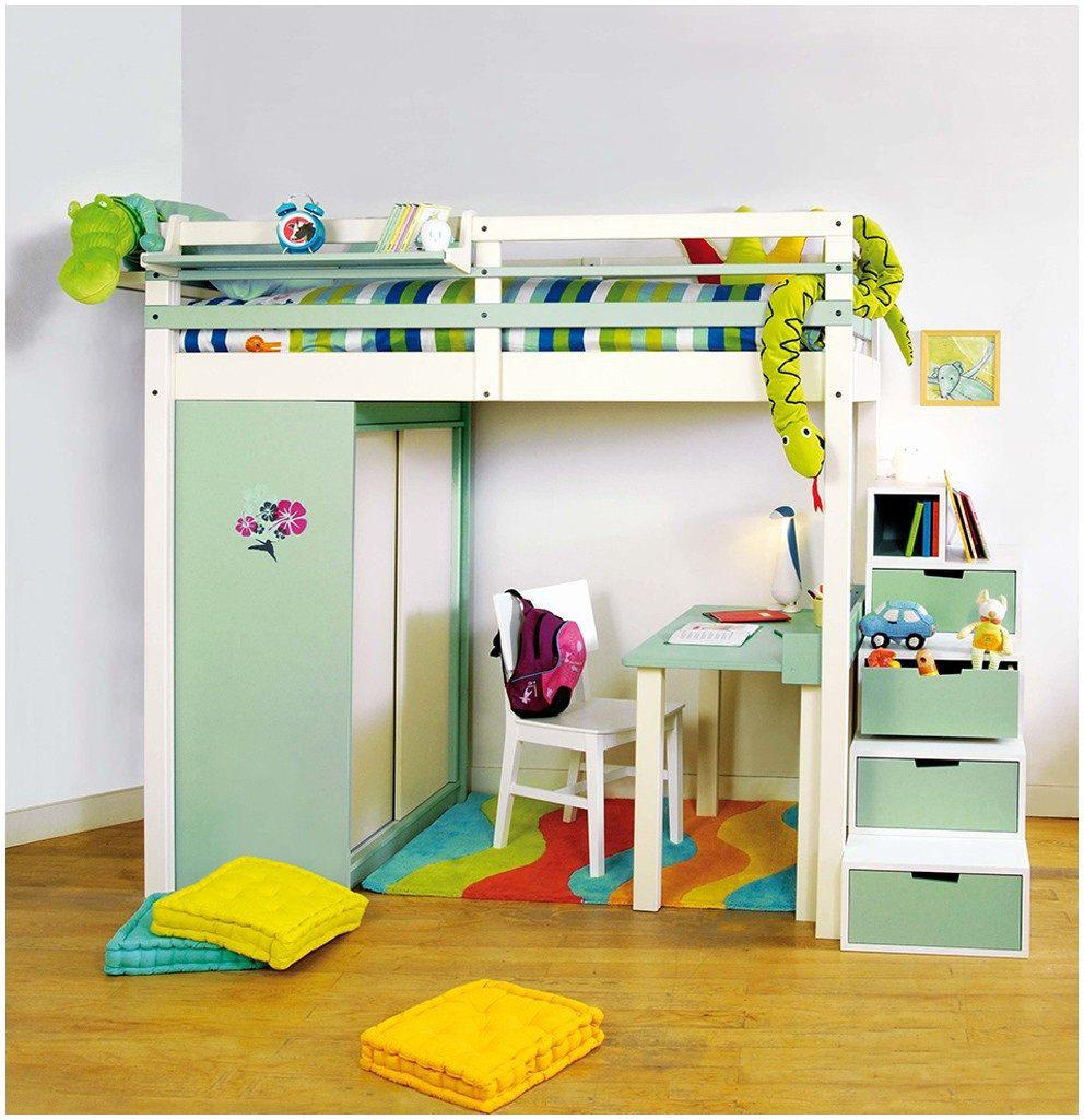 58 Luxe Lit Mezzanine 2 Places Avec Escalier Images