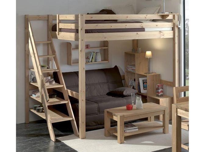 Lit Mezzanine 2 Places Luxe Les Plus Beaux Lits Mezzanines Pour Prendre De La Hauteur Et Gagner