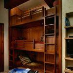 Lit Mezzanine 2 Places Luxe Lit Mezzanine 140—190 Bois élégant Media Cache Ec0 Pinimg 736x Cd 0d
