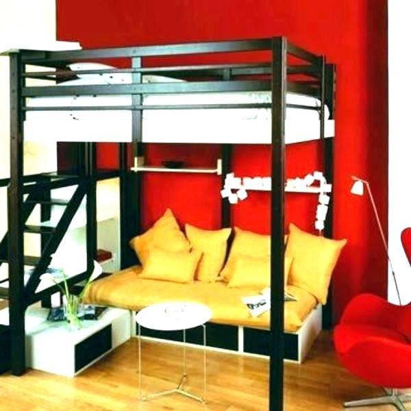 Lit Mezzanine 90×190 Bel 38 Conception Lit Mezzanine 90×190 Bois Meubles