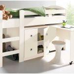 Lit Mezzanine 90x190 Joli Bureau Ado Avec Rangement Lit Bureau Enfant Bine 90—190 Cm