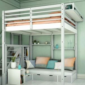 Lit Mezzanine 90×190 Nouveau Lit Mezzanine Noa Lit Bureau Unique Best Media Cache Ec0 Pinimg 550x