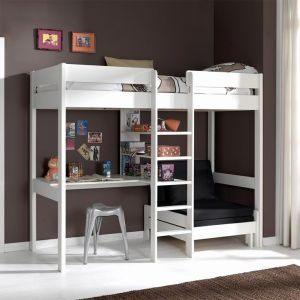 Lit Mezzanine 90×200 Génial Bi Lit Mezzanine 18 élégant Lit Escalier Adana Estepona – Ccfd Cd