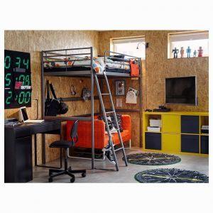 Lit Mezzanine 90×200 Génial Lit Mezzanine Noa Lit Mezzanine Bureau Fly – Spallinux