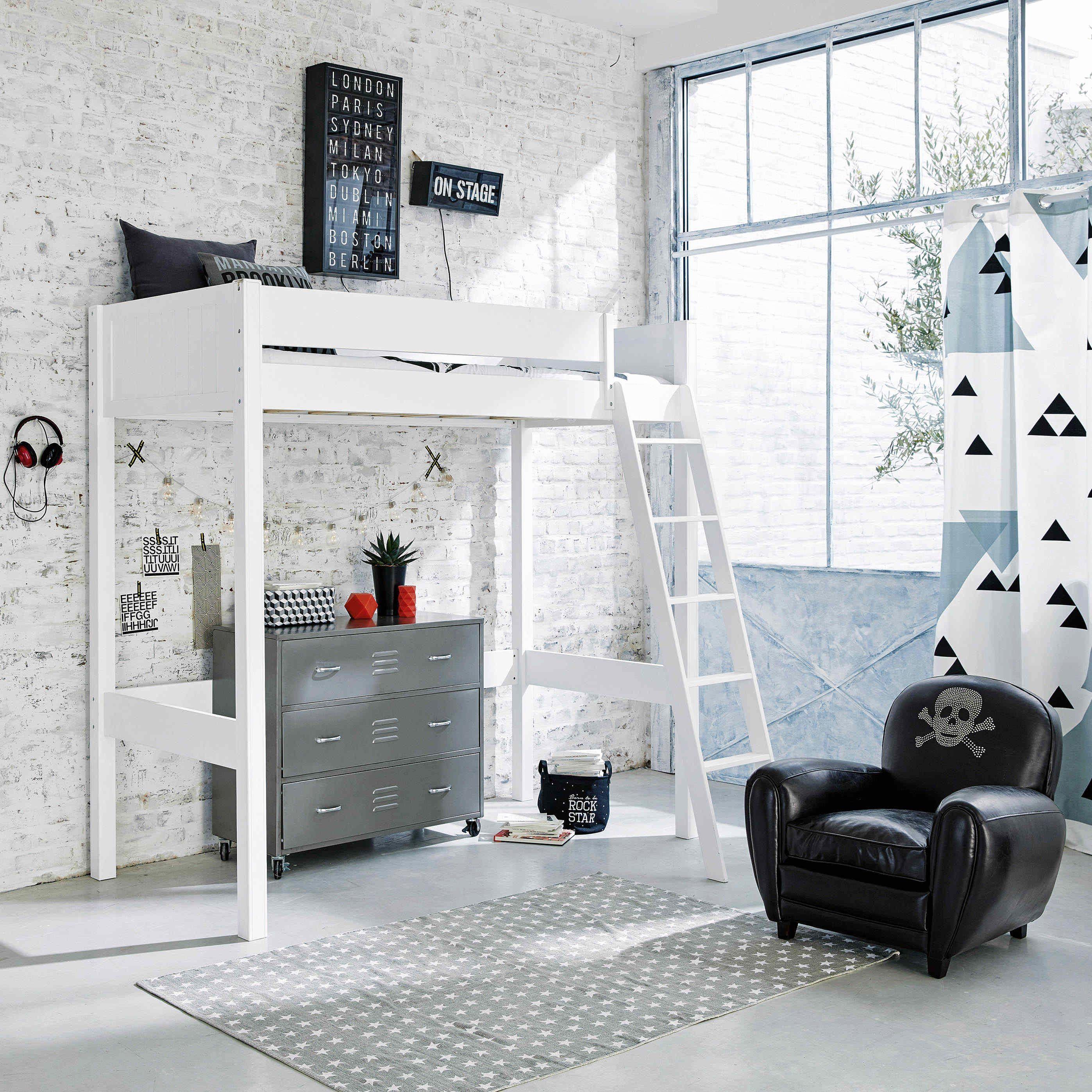 Lit Mezzanine Adulte 160×200 Belle Lit Mezzanine Adulte 160—200 Inspiré 47 Présente Lit Mezzanine