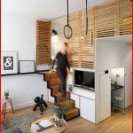 Lit Mezzanine Adulte 160x200 Élégant Lit Pour Studio Lit Mezzanine Adulte Et Aménagement De Petits