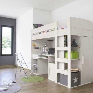 Lit Mezzanine Armoire Magnifique Armoire Lit Bureau Lit Armoire 2 Places Inspirant Wilde Wellen 0d