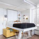 Lit Mezzanine Avec Banquette Le Luxe Structure Lit Mezzanine Lit Mezzanine Avec Dressing Garderoba Styl