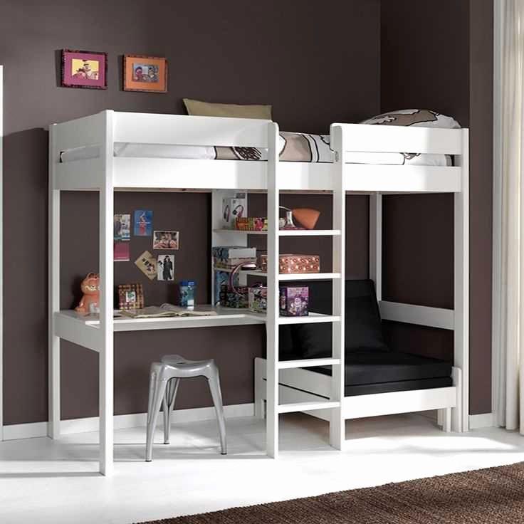 Lit Mezzanine Avec Bureau Élégant Bureau Pour Lit Mezzanine Beau Table De Lit Design Salon Salon Ikea
