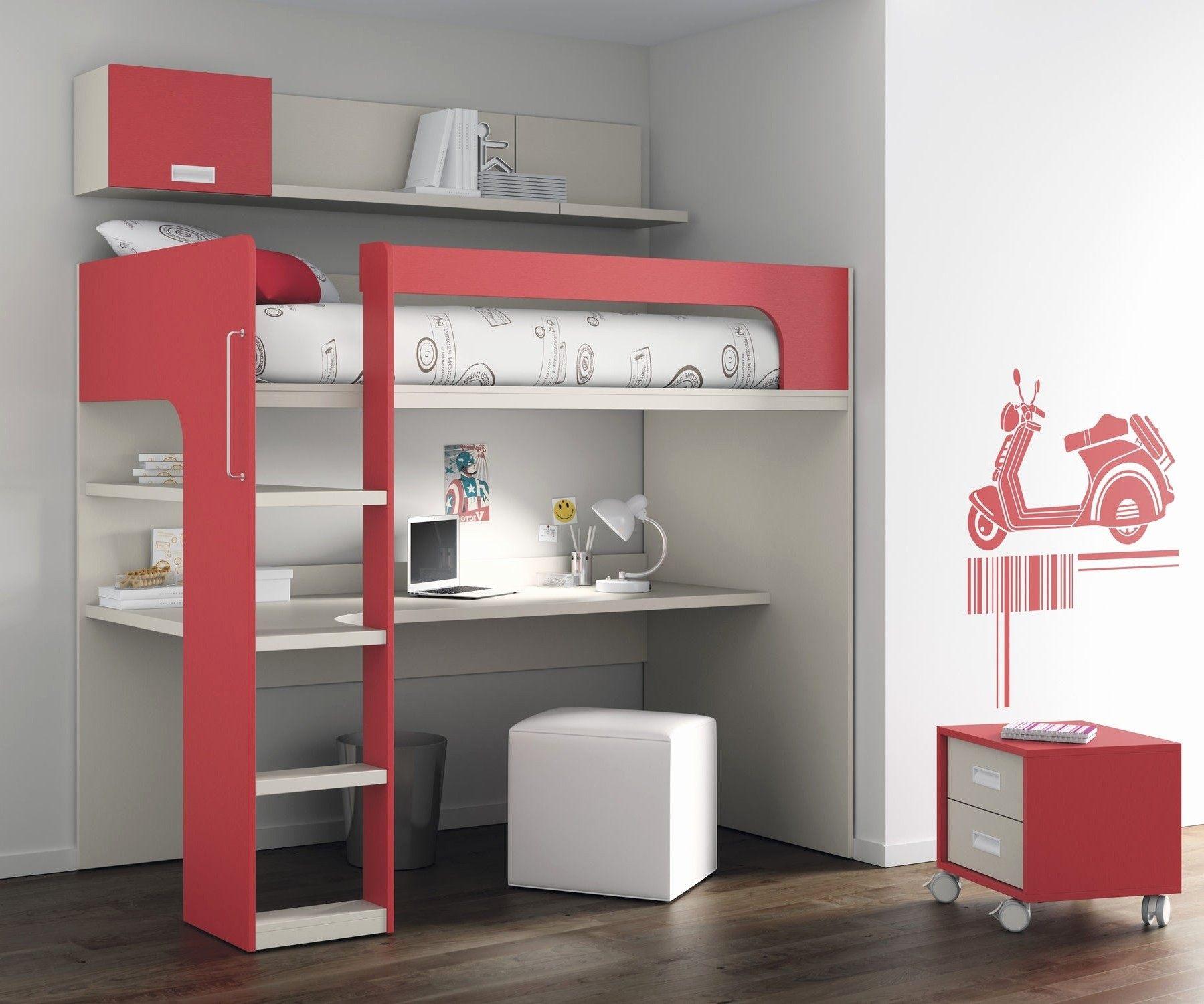 Lit Mezzanine Avec Bureau Et Armoire Bel Lit Mezzanine Armoire Elegant Lit Mezzanine 1 Place Conforama Unique