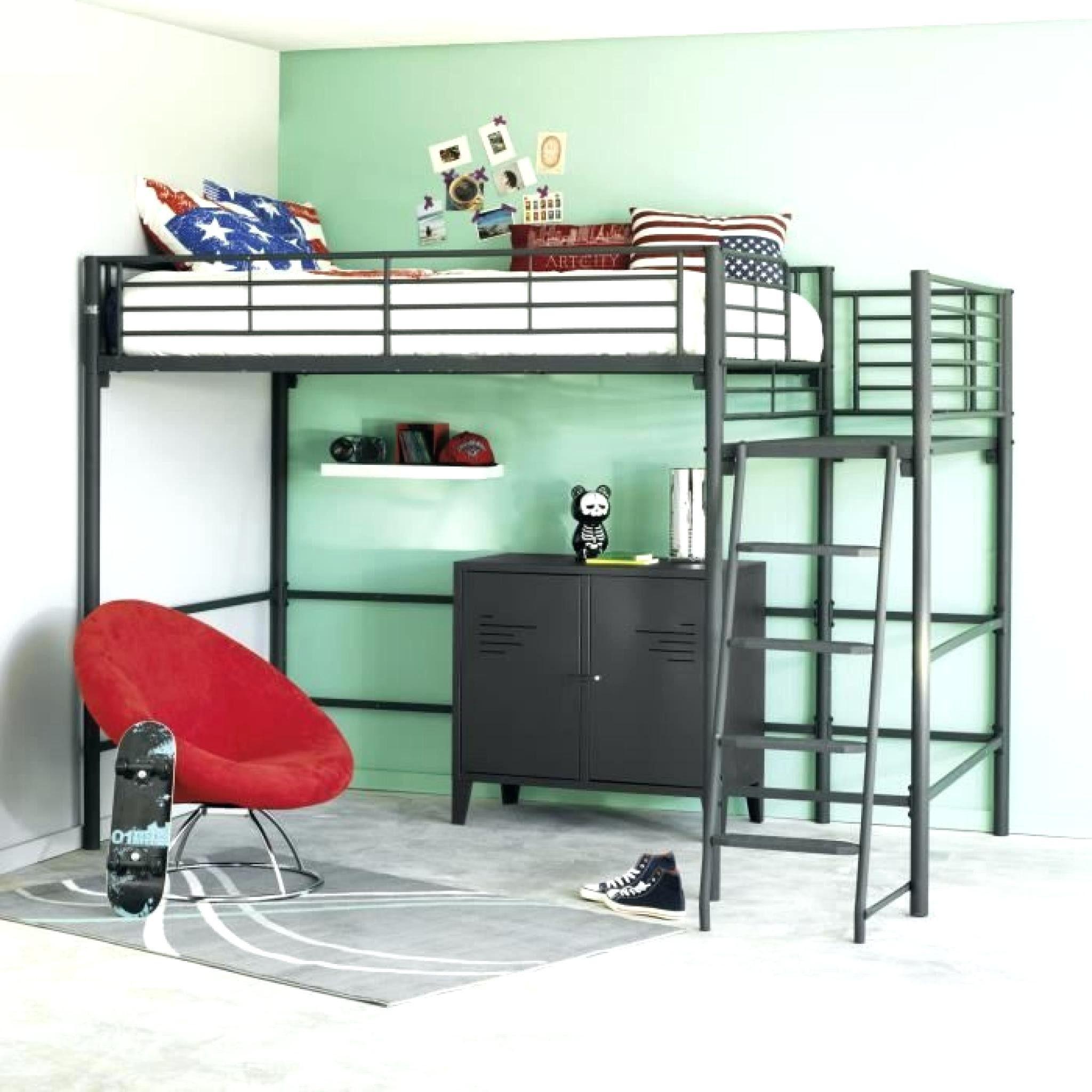 Lit Mezzanine Avec Bureau Et Armoire Nouveau Bureau 90 Cm Unique Lit Mezzanine 1 Place atourdissant but Free the
