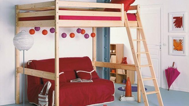 76 Idées De Design Lit Mezzanine Enfant Avec Bureau Meubles