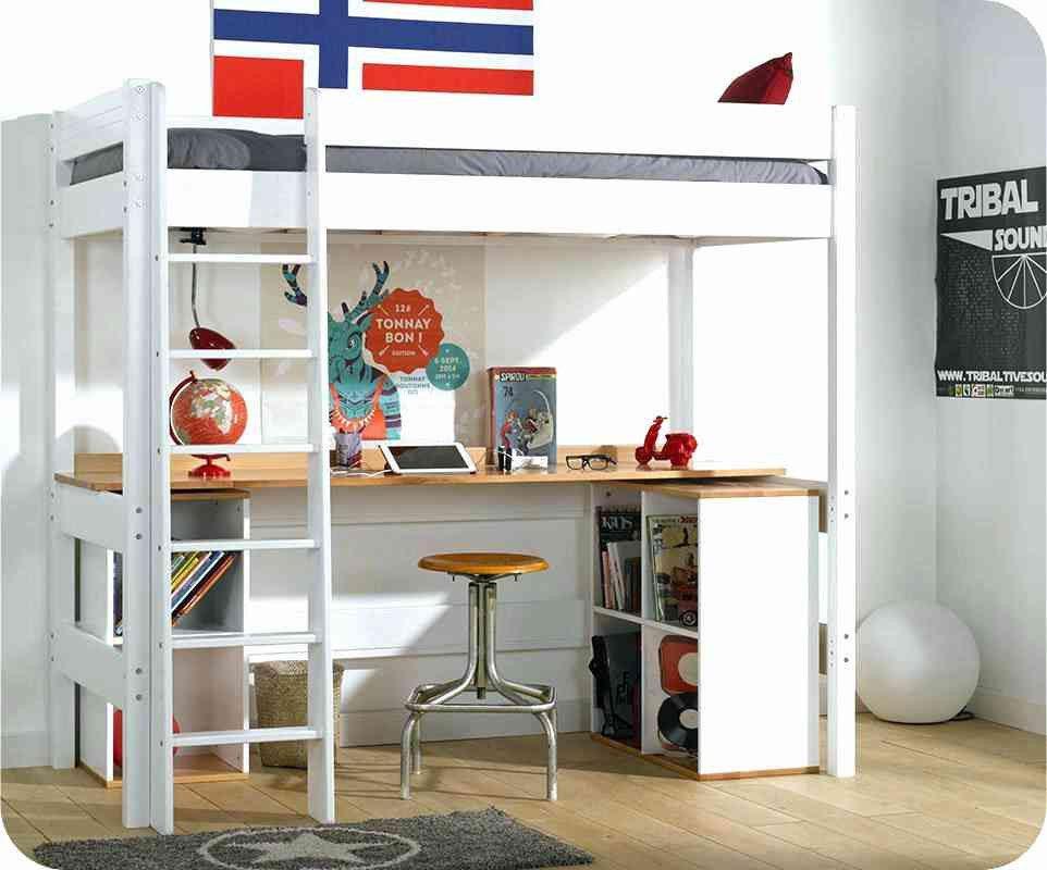 Lit Mezzanine Avec Bureau Et Rangement Frais 48 Concept Lit Mezzanine Avec Bureau Et Rangement