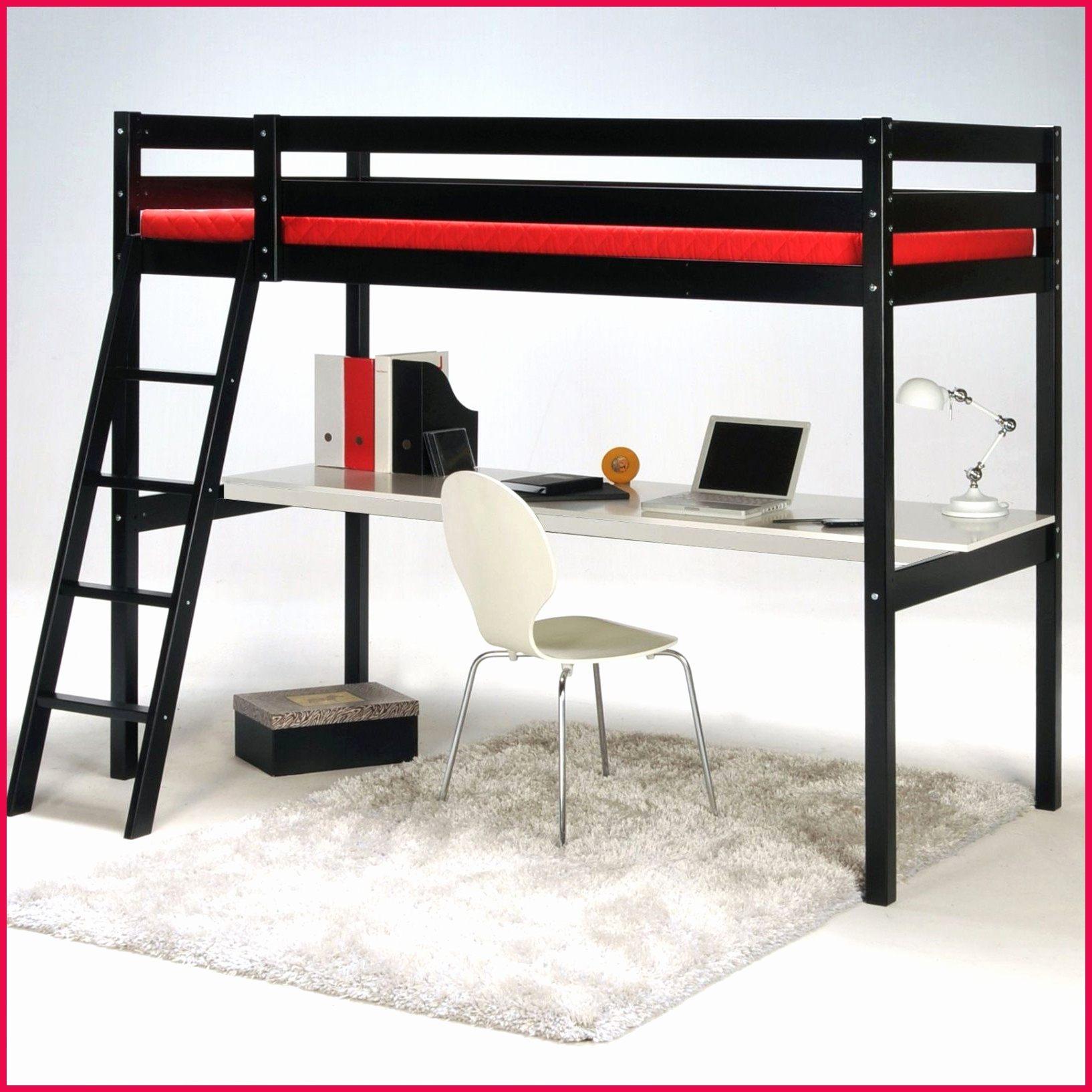 Lit Mezzanine Avec Bureau Et Rangement Génial Entra Nant Lit Mezzanine Avec Canape Et Lit Mezzanine Double 1 Lit
