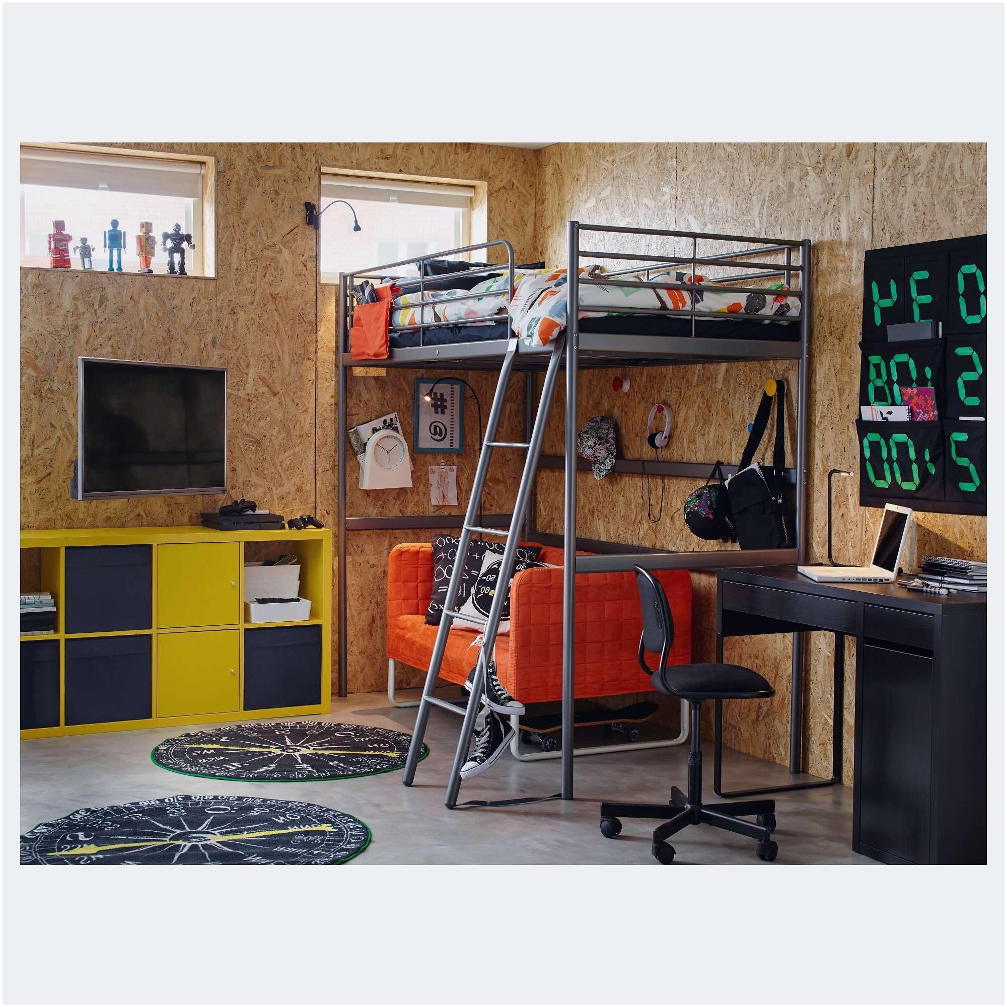 Lit Mezzanine Avec Bureau Et Rangement Génial Inspiré Lit Mezzanine 1 Place Avec Bureau Frais Lit Mezzanine 2