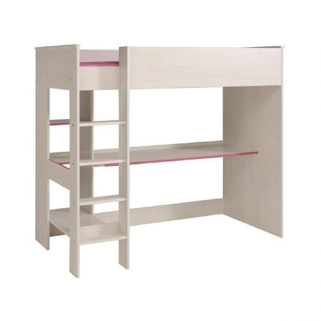 lit mezzanine avec bureau intégré conforama charmant lit