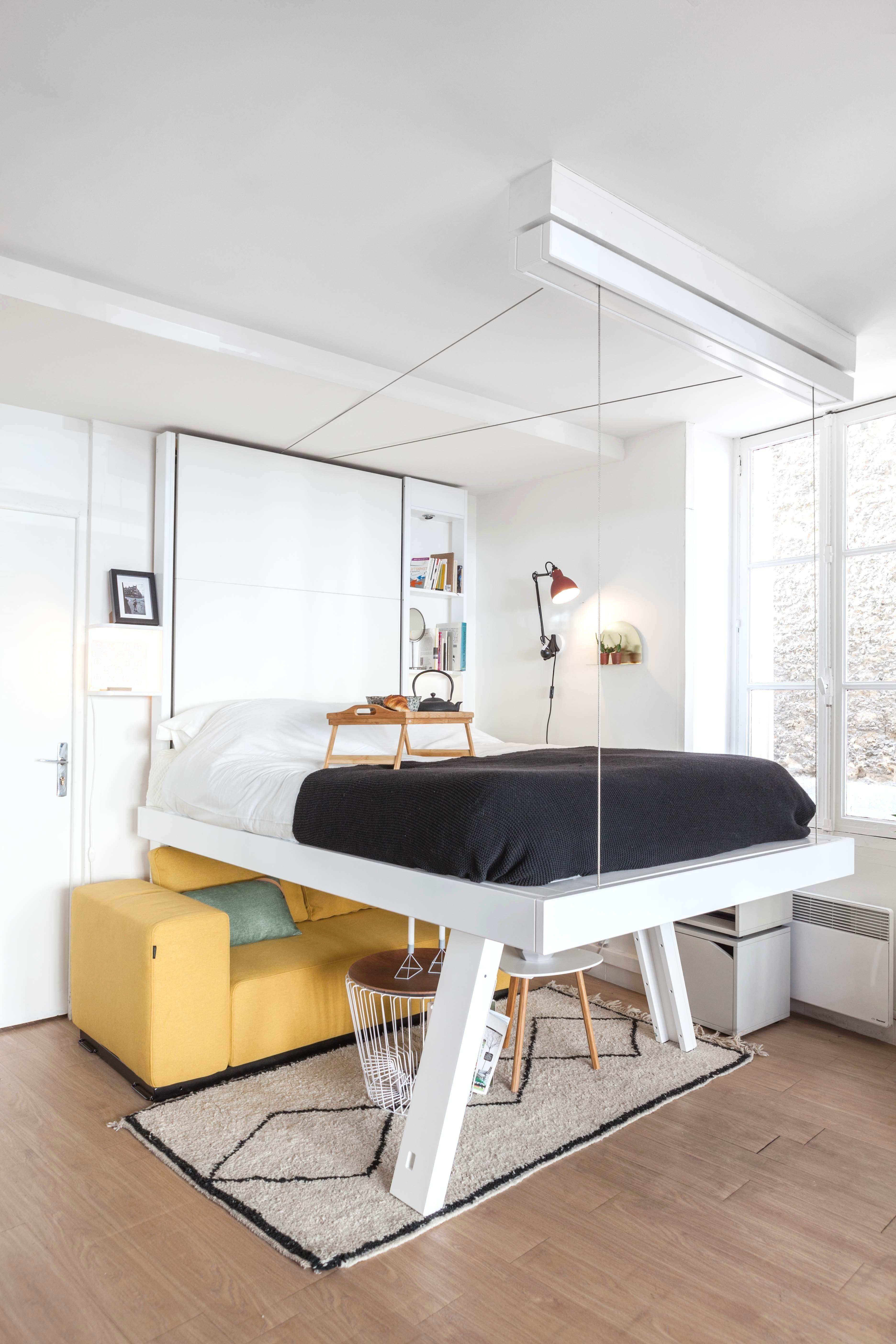 Lit Mezzanine Avec Bureau Intégré Conforama De Luxe Lit 2 Places Gain De Place