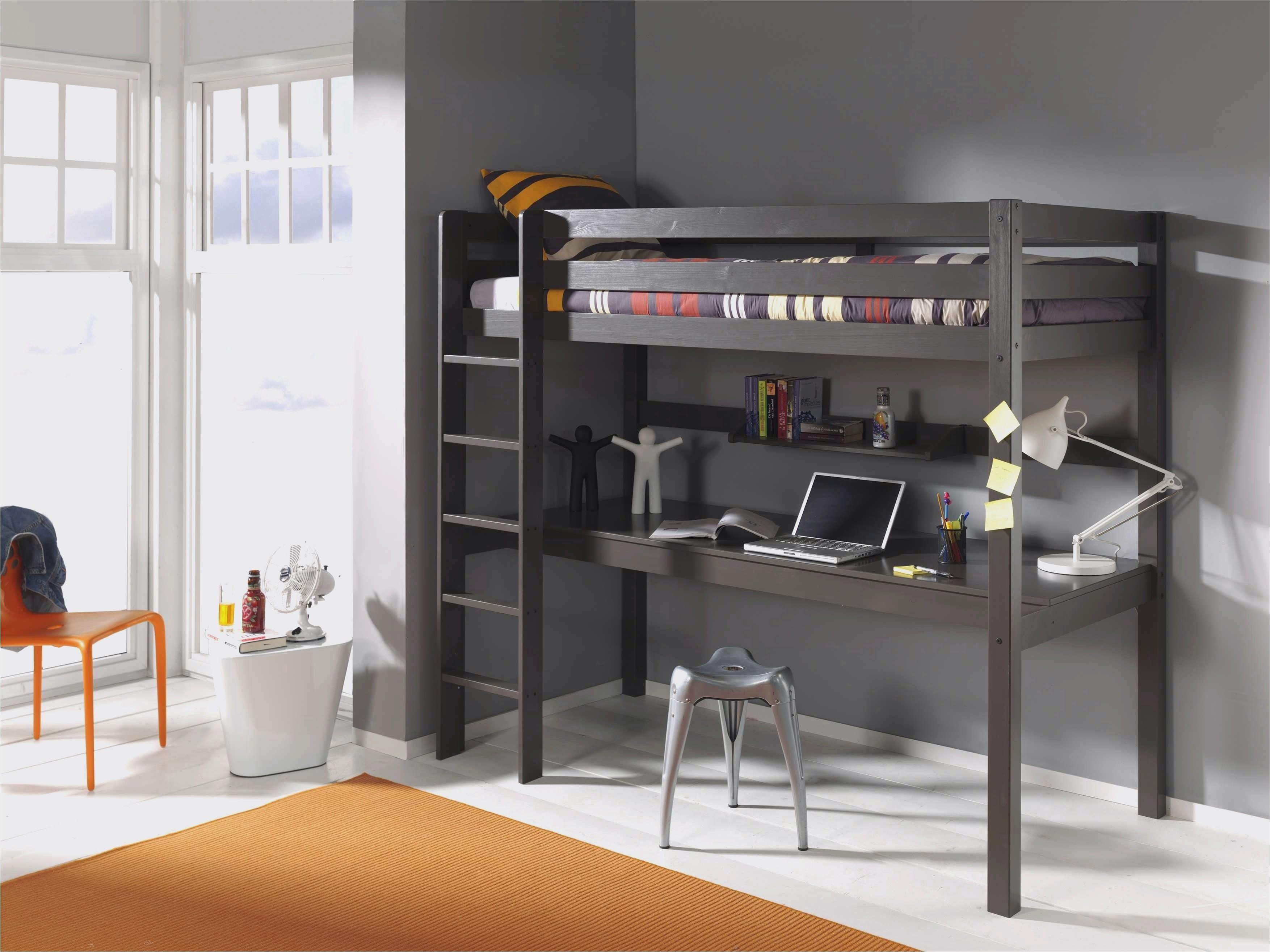Lit Mezzanine Avec Bureau Pas Cher Fraîche Les 17 Unique Lit Enfant Mezzanine Avec Bureau S Les Idées De