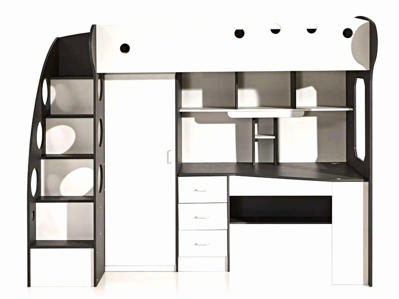 Lit Mezzanine Avec Bureau Pas Cher Inspiré 33 Nouveau Stock De Lit Superposé Avec Rangement Pas Cher