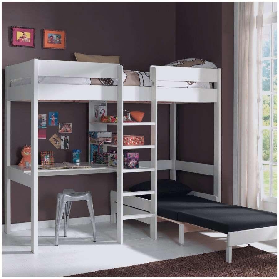 Lit Mezzanine Avec Bureau Pas Cher Nouveau Elégant Lit Mezzanine Salon Chambre Mezzanine Adulte Beau Mezzanine