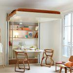 Lit Mezzanine Avec Canapé Nouveau Luxe Lit Mezzanine Avec Canapé Convertible Fixé Zochrim