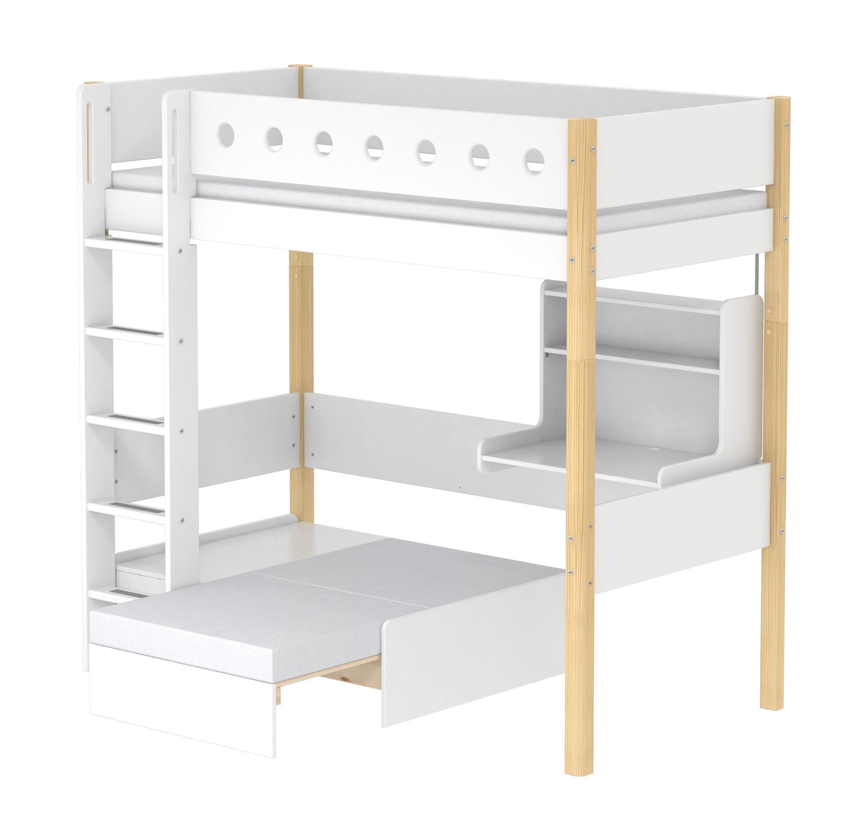 Lit Mezzanine Avec Clic Clac Inspiré Lit Mezzanine Avec Clic Clac Ikea