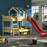 Lit Mezzanine Avec Toboggan Agréable Wickey Lit Pour Enfant Crazy Hutty Avec Toboggan Lit Mezzanine
