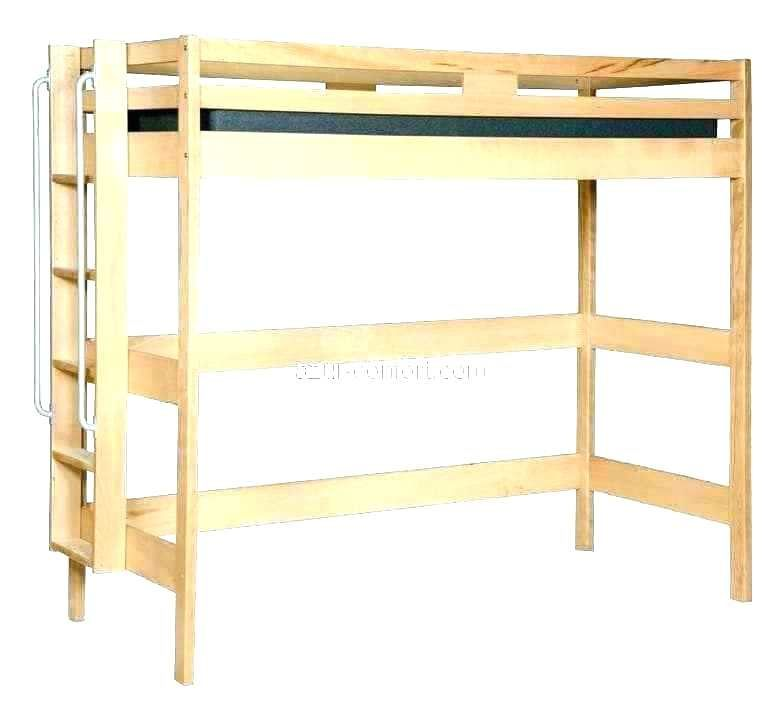 Lit Mezzanine Bois 1 Place Douce Lit En Bois Simple Single Bed Traditional With Headboard Wooden Alp