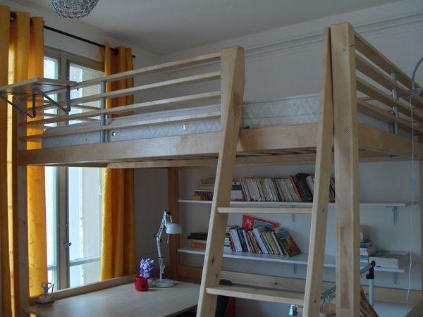 Lit Mezzanine Bois 2 Places Inspiré Lit Mezzanine 2 Places Idéale Dans Une Chambre