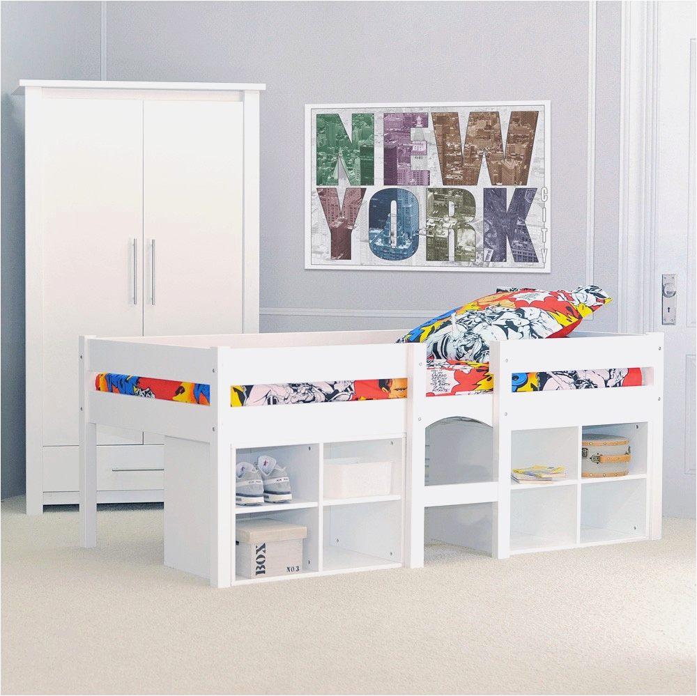 Lit Mezzanine Bureau Enfant Élégant Lit Mezzanine toboggan Nouveau Lit Mezzanine Avec Rangement Beau