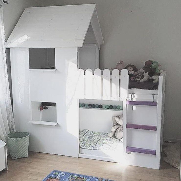 Lit Mezzanine Cabane Le Luxe Lit Cabane Mezzanine Lit Mezzanine Enfant Ikea Maison Design Apsip