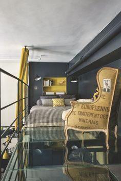 Lit Mezzanine Combiné Impressionnant Лучших изображений доски Interior 41