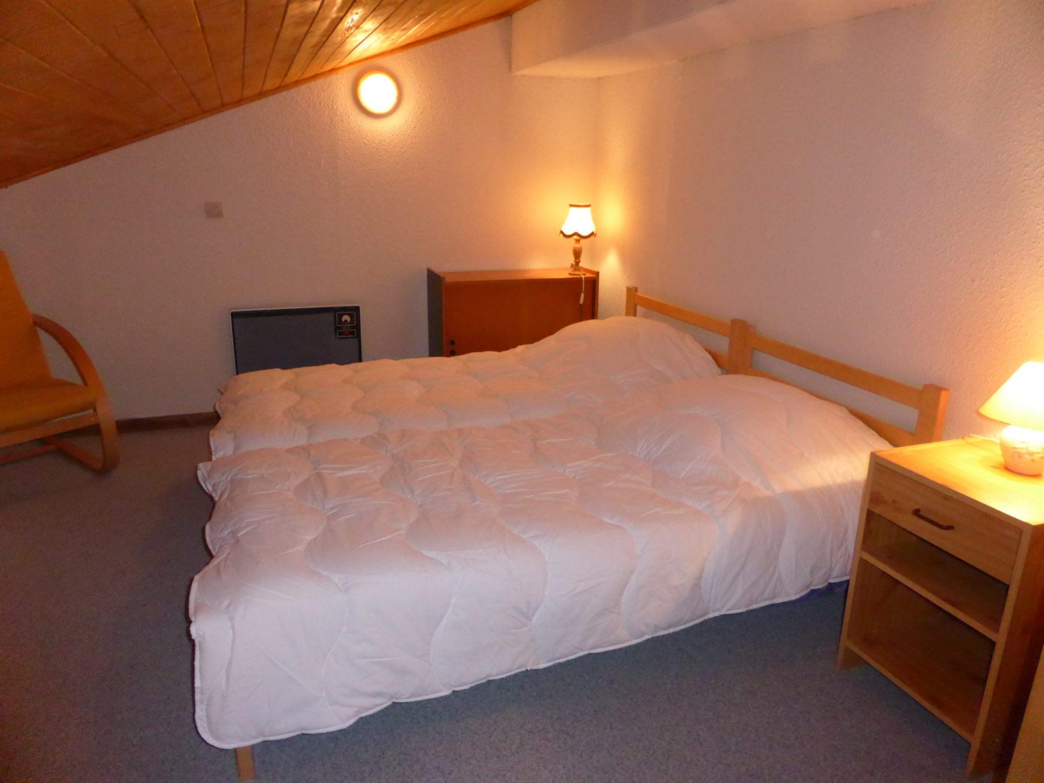 Lit Mezzanine Double Inspirant Rent 3 Rooms Contamines Schuss Vacances Mont Blanc