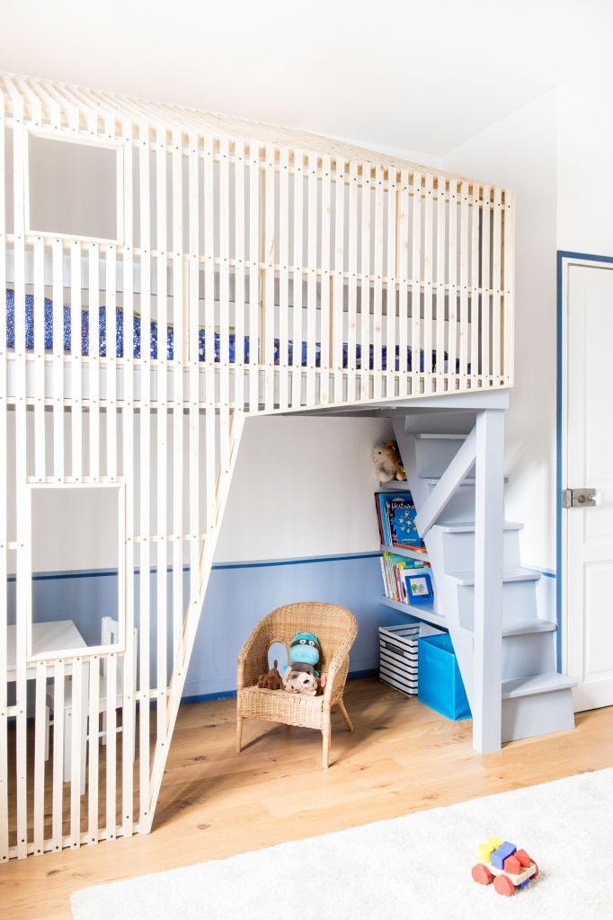 Lit Mezzanine En Bois Fraîche Cabane Enfant Bois Chambre Design