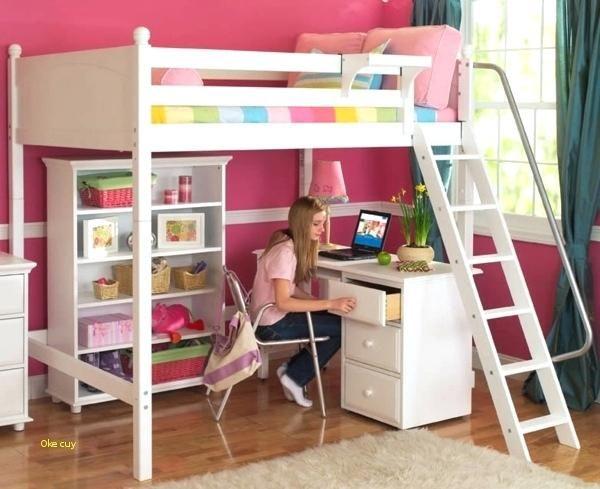 Lit Mezzanine Enfant Avec Bureau Élégant Lit Mezzanine Avec Bureau Enfant Lit Mezzanine Bureau Couur Lit