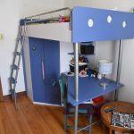 Lit Mezzanine Enfant Impressionnant Lit Mezzanine Pact 1 Lit Double Mezzanine Lit Double De Luxe