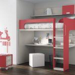 Lit Mezzanine Enfant Pas Cher Douce Lit Mezzanine Avec Bureau Ikea