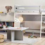 Lit Mezzanine Enfant Pas Cher Élégant Lit Mezzanine Haut Chambre Mezzanine Adulte Beau Mezzanine Salon 0d