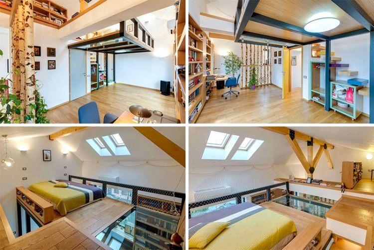 Lit Mezzanine Escalier Beau Lit Mezzanine Avec Rangement Adulte élégant Lit Mezzanine Escalier