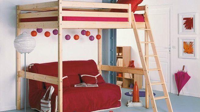 Lit Mezzanine Escalier Charmant 76 Idées De Design Lit Mezzanine Enfant Avec Bureau Meubles