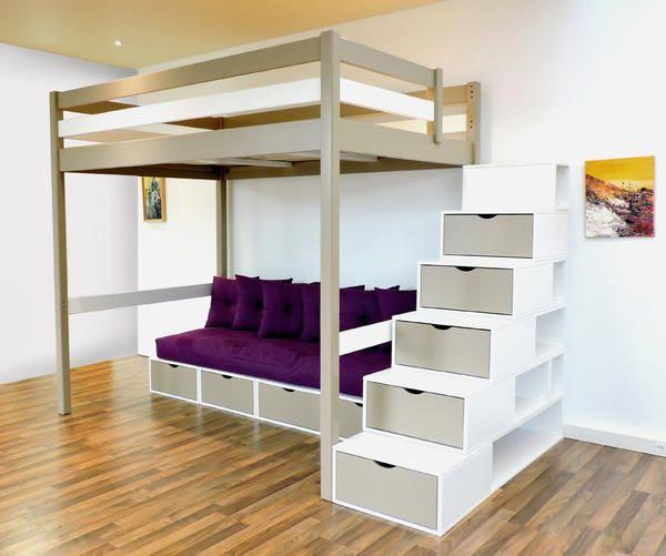 Lit Mezzanine Escalier Douce Escalier Avec Rangement Luxe 44 Beau Graphie De Lit Superposé