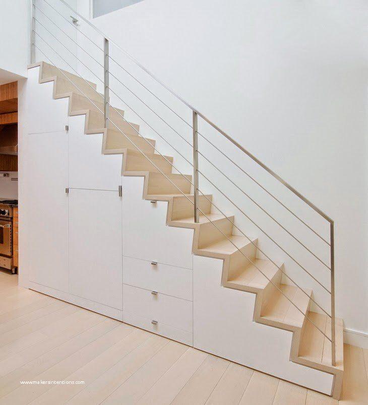 Sous Escalier élégant Escalier Rangement Luxe Lit En Mezzanine Luxe
